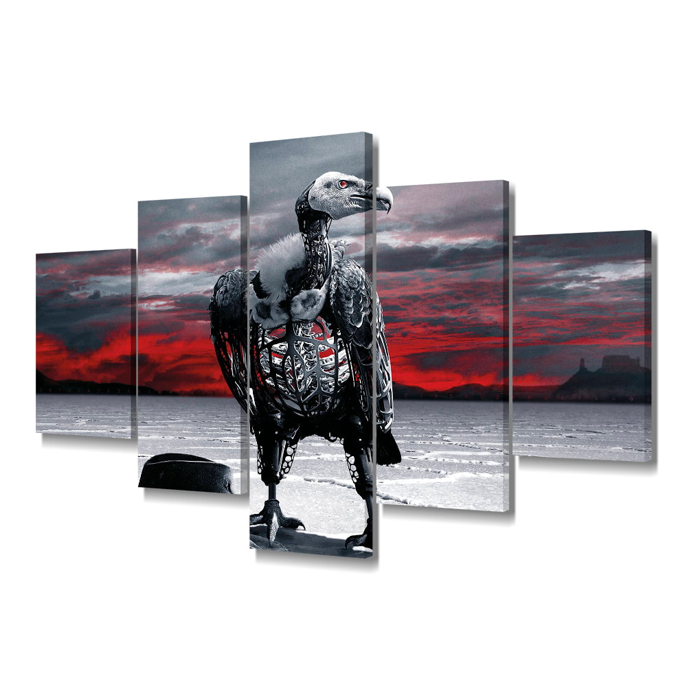Quadro Decorativo Westworld  5x1