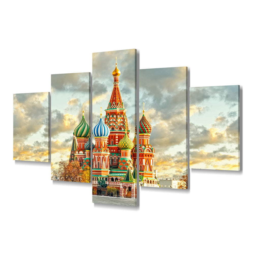 Quadro Decorativo Kremilin 5x1