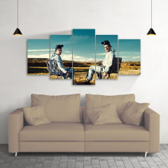 Quadro Decorativo Breaking Bad 5x1