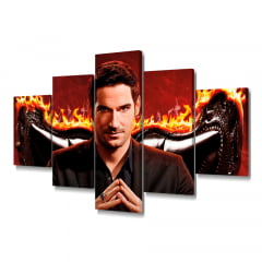 Quadro Decorativo Lucifer 5x1