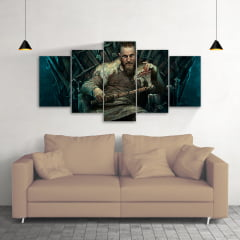 Quadro Decorativo Ragnar Vikings 5x1
