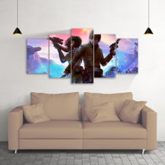 Quadro Decorativo Star Wars 5x1