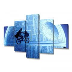 Quadro Decorativo Storm Bike 5x1