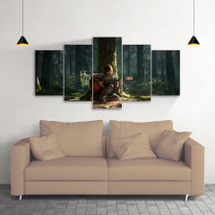 Quadro Decorativo The Last Of Us Ellie