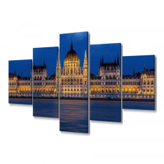 Quadro Decorativo Hungaro 5x1