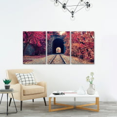 Quadro Decorativo Armenia Tunel 3x1